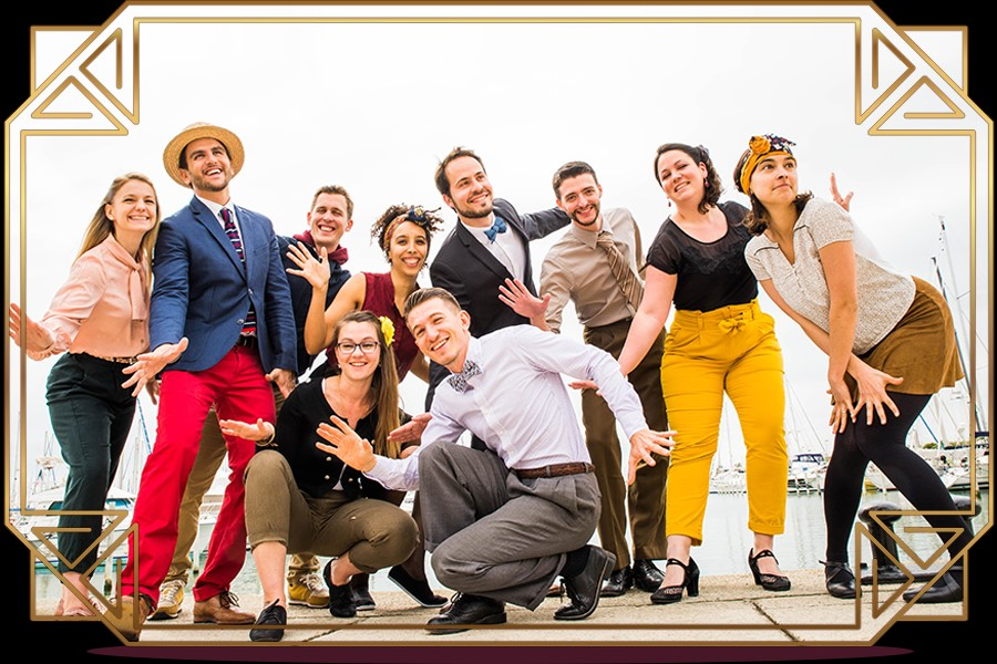 Stages de danses « rétro » : Charleston, Lindy Hop & Pin'Up Art