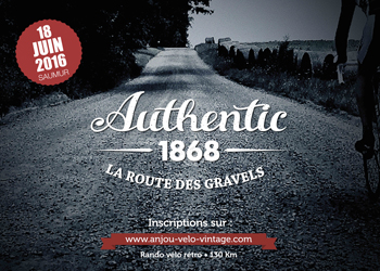 Authentic 1868, la route des gravels